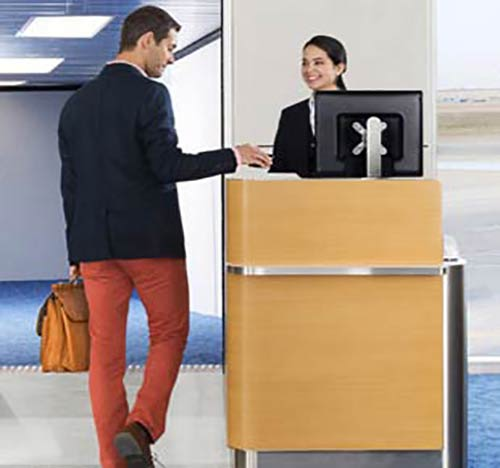 Save time at airport with priority checking and boarding.