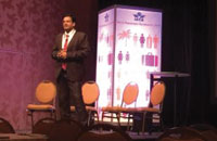 Optiontown CEO was invited to IATA World Passenger Symposium 2014